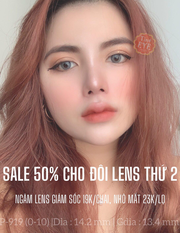 DEAL SỐC: Giảm ngay 50% cho đôi lens thứ 2, Ngâm lens chỉ còn 19k và Nhỏ mắt 23k khi mua kèm Lens